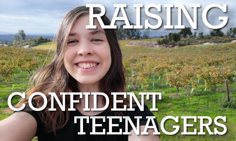Raising Confident Teenagers: Natural Parenting